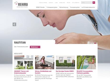 REHAU – Responsive Redesign