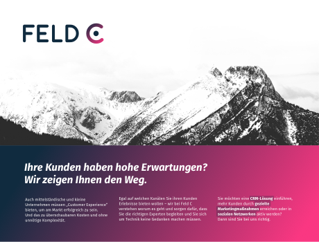 Feld C – Corporate & Web Design
